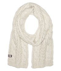 The North Face Cable Minna Scarf Lunar Ice Grey Scarves Bone