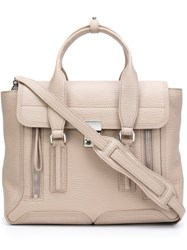 3.1 Phillip Lim 'Pashli' Satchel Nude And Neutrals