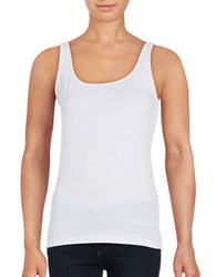 Lord And Taylor Iconic Fit Slimming Tank Natural