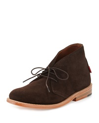 Gorilla Usa Suede Dress Chukka Boot Chocolate