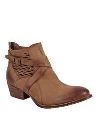 Charles By Charles David York Nubuck Ankle Boots Cognac