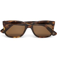 Kingsman Cutler And Gross Square Frame Acetate Sunglasses Tortoiseshell