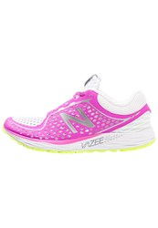 New Balance Breathe Cushioned Running Shoes Green White Pink