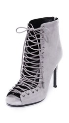 Kendall Kylie Ginny Lace Up Heels New Smoke