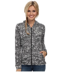 Mountain Hardwear Burned Out Full Zip Hoody Graphite Women's Sweatshirt Gray