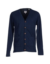 Gant Rugger Knitwear Cardigans Men Dark Blue