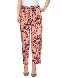Souvenir Clubbing Trousers Casual Trousers Women Salmon Pink
