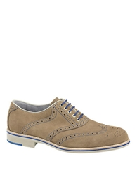 Johnston And Murphy Ellington Suede Wingtips