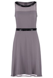 S.Oliver Cocktail Dress Party Dress Dusty Grey Taupe