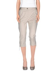 Dandg Trousers 3 4 Length Trousers Women Light Grey