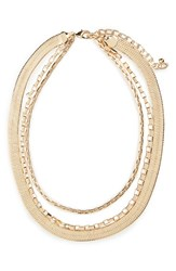 Nordstrom Women's Triple Chain Collar Necklace