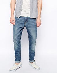 Weekday Jeans Friday Skinny Fit Blue Warning Bluewarning