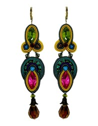 Dori Csengeri Jewellery Earrings Women Yellow
