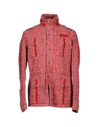 Michael Bastian Jackets Red