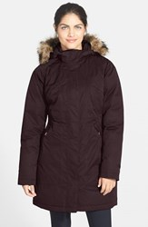 The North Face Women's 'Arctic' Parka With Removable Faux Fur Trim Hood