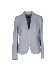 Akris Suits And Jackets Blazers Women Sky Blue
