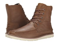 Toms Searcher Boot Brown Full Grain Leather Men's Lace Up Boots
