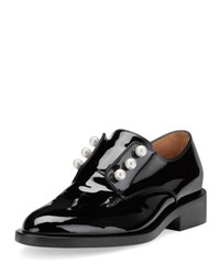 Givenchy Masculine Pearly Patent Loafer Black