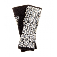 Dolce And Gabbana Sequin And Crystal Embellished Gloves