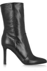 Tamara Mellon Rebel Leather Calf Boots Black