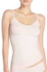 Nordstrom Women's Lingerie Two Way Seamless Camisole Pink Veil Rose