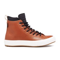 Converse Men's Chuck Taylor All Star Ii Leather Neoprene Boot Hi Top Trainers Antique Sepia Black Tan