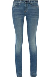 Alexander Wang 001 High Rise Skinny Jeans Mid Denim