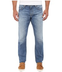 Ag Adriano Goldschmied Matchbox Slim Straight Jeans In 16 Years Riverside 16 Years Riverside Men's Jeans Blue