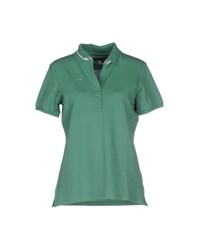 Etiqueta Negra Topwear Polo Shirts Women Green