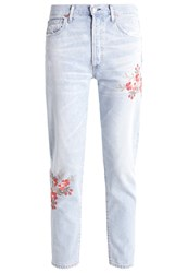Citizens Of Humanity Liya Relaxed Fit Jeans Rolon Blossom Light Blue Denim