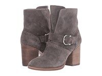 Isola Lavoy Steel Grey Cow Suede Women's Boots Gray