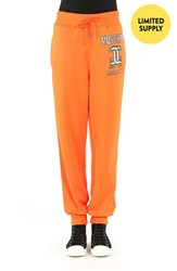 Women's Moschino '2Nd Story' Jogger Sweatpants Orange