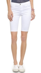James Jeans Twiggy Bermuda Shorts White Clean