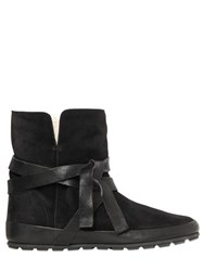 Isabel Marant Etoile 20Mm Nygel Suede Shearling Boots