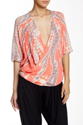 Young Fabulous And Broke H Surplice Blouse Multi
