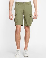 Minimum Khaki Fabrice Cargo Shorts
