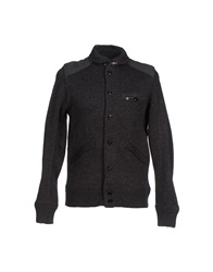 Duck And Cover Cardigans Steel Grey