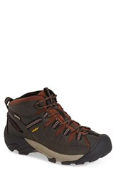 Men's Keen 'Targhee Ii Mid' Hiking Boot Raven Tortoise Shell