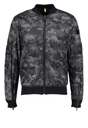 Replay Bomber Jacket Anthracite
