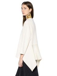 Marni Double Face Wool Jersey Sweatshirt