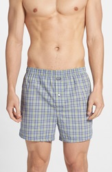 Michael Kors Cotton Boxers Assorted 2 Pack Black Green