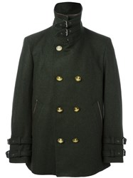 Vivienne Westwood Man Short Length Military Coat Green