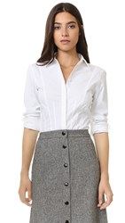 Dkny Button Down Shirt White