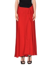 Marni Skirts Long Skirts Women Red