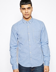 Solid Solid Oxford Shirt Lightblue