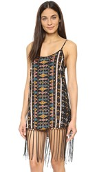 Cleobella Aquarius Dress Tribal Print