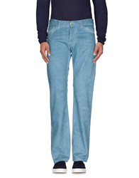 Gianfranco Ferre Gf Ferre' Trousers Casual Trousers Men Turquoise