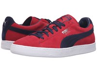Puma Suede Classic Barbados Cherry Peacoat Men's Shoes Red