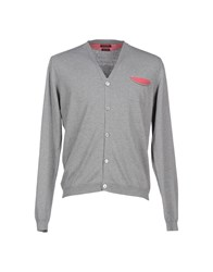 Bramante Knitwear Cardigans Men Grey