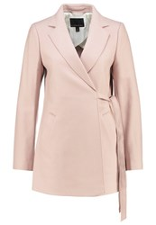 Banana Republic Melton Classic Coat Blush Rose